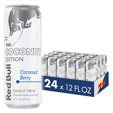 Red Bull Energy Drink, Coconut Berry, 12 fl oz (24 Count), Coconut Edition