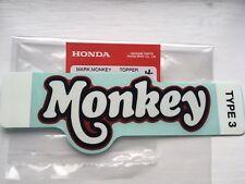 Honda Monkey Z125  Red Side Panel Decal New Monkey Bike Z50