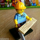 LEGO 71008 Minifigures CARPENTER #9 Series 13 SEALED Minifigs Saw Board Wood