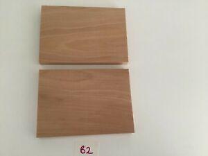 Solid Beech Hardwood Offcuts x 2