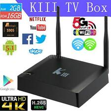 KIII Amlogic S905 2GB 16GB Android 5.1 Smart TV BOX Media Player 4K 3D Bluetooth