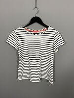 JOULES T-Shirt - Size UK10 - Striped - Great Condition - Women's