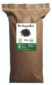 Bio-Rapspellets 20kg DE-ÖKO 022