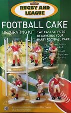 Cake Decorating Kit - Rugby Union, Rugby League, 7's, Touch or Tag Football