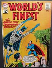 "World's Finest #128 1962 DC ""Power That Transformed Batman"" c/s 4.5 BV$23 50%Off"