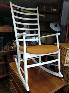 Vintage Mid Century Danish Rocking Chair