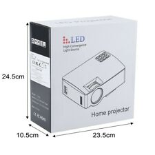 LED home projector high convergence light source