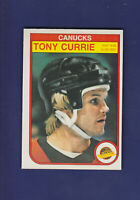 Tony Currie 1982-83 O-PEE-CHEE Hockey #341 (NM)