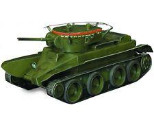 Cardboard model kit. WW II. Soviet light wheel-track tank BT-5. 1/35 scale.
