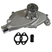 Satin Aluminum Water Pump Short For Big Block Chevy BBC 396 427 454 High Volume