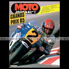 MOTO JOURNAL HS 25 HORS SERIE ★ GRAND PRIX 1985 ★ RAYMOND ROCHE, FREDDIE SPENCER