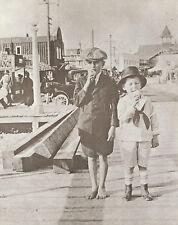 "NEWPORT BEACH Balboa PAVILION Vintage Photo Print 981 11"" x 14"""