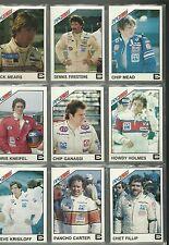 (51) 1983 Indy 500 Card Set Chip Canassi, Sneeva, Teo Fabi, Johncock w/box Mint