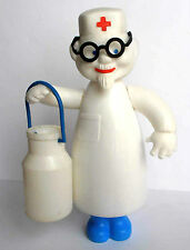 1960s Ussr Russian Soviet Plastic Large Size Toy Doll Character Doctor Aybolit