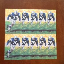 Art Donovan Colts Lot of 10 unsigned Goal Line Art Cards