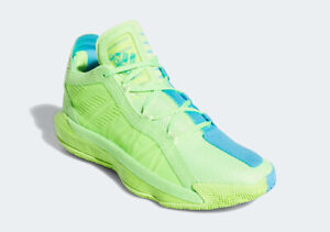 🏀 Adidas Dame 6 JamFest McDonalds Green Blue Basketball Gym Shoes FW4507 Size 9