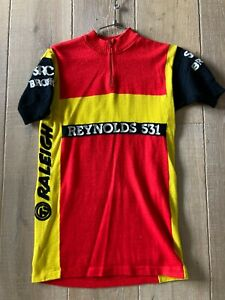 Vintage Cycling Jersey Wool TI Raleigh