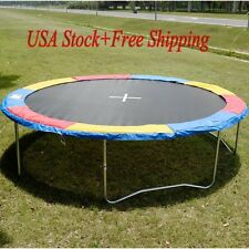 12 FT Multi Color Trampoline Safety Pad Foam EPE Spring Cover Frame Replacement