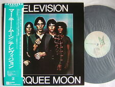 TELEVISION MARQUEE MOON / NM MINT- CLEAN COPY WITH OBI