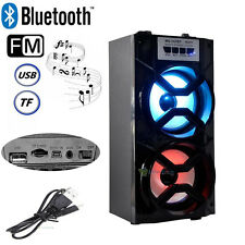 Portable Bluetooth Speaker Smartphone Bass Huge Stereo Sound FM Radio USB SD TF