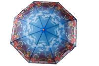 London Collage Umbrella for UK Rain Weather Water Repellent