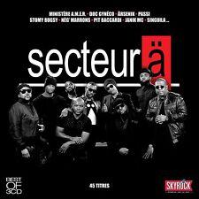 SECTEUR Ä - BEST OF SECTEUR Ä  3 CD NEUF
