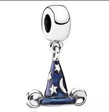 Disneys Mickey Mouse Sorcerer hat charm European Chamilia Style Charm USA Seller