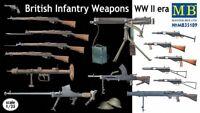 Masterbox 1:3 5 Scala - British Armi Set WWII MAS35109