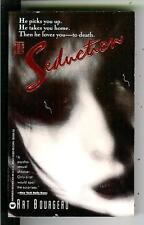 THE SEDUCTION by Art Bourgeau, Warner 1989 sleaze crime gga pulp vintage pb