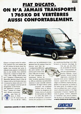 Publicité advertising 107 1995 fiat ducato new utility