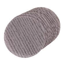 10 Pack 125mm 80 Grit Sanding Sheet Discs Aluminium Oxide Mesh Hook Amp Loop