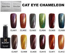 Bluesky Cat Eye Chameleon (Magnetic)Nail Gel Polish UV LED Soak Off, Magnet Reqd