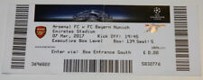 Ticket for collectors CL Arsenal FC - Bayern Munchen 2017 England Germany