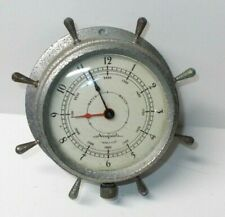 Vintage Airguide Ship's Wheel 8-Day-7 Jewel Clock