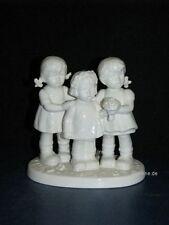 "+ww Goebel Hummel Figur, Hum 2133, ""Rosen, Tulpen, Nelken"", weiß"