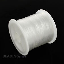 1roll 0.45mm Clear Nylon Cord Fishing Line String Wire Beading Thread Craft