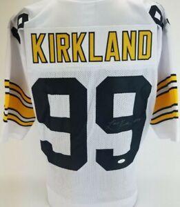 Levon Kirkland Signed Pittsburgh Steelers Custom Jersey (JSA Witness COA)