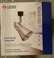 ** Lot Of 11 ** Lithonia Lighting Flare Lamp Brushed Nickel LED Track Light Head