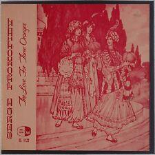 PROKOFIEV: Love for Three Oranges PERIOD Box Set Dalgat Moscow NM- Super! LP OG