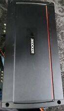New ListingKicker Kxa2400.1 Mono 2400W Amplifier