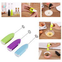 Handheld Electric Egg Beater Milk Frother Bubbler Coffee Blender Kitchen Tool S8
