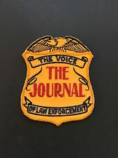 "The Voice Of Law Enforcement ""The Journal"" Badge Patch"