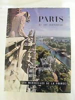 Paris et ses Alentours Hachette Henry de Montherlant 1961