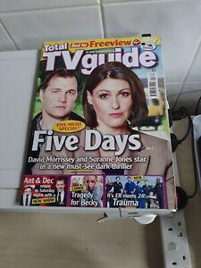 Total TV Guide 27 February- 5 March 2010 Suranne Jones, Ant & Dec EX