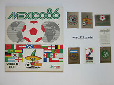 WM 1986, 10 sticker stickers Panini World Cup 86 mexico méxico