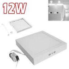 12 Watt Surface Square Ceiling Suspended LED Panel Cool White Light UKDC