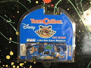 Goofy Blue Chevy Monte Carlo 1/64 Team Caliber Disney Die-Cast Stock Car