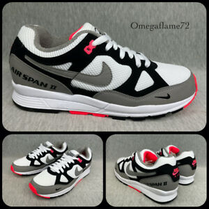 Nike Patta Air Span 2 QS, Solar Red, AO2925-001, Sz UK 7, US 8, EU 41, Vortex