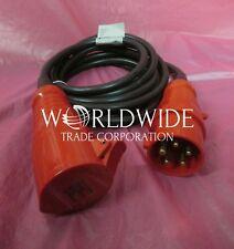 New IBM interpower 88G4764 Type 46 250V 32A 3-ph IEC 309 3P+N+G 14' Power Cord
