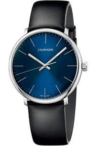 Calvin Klein High Noon Quartz Blue Dial Men's Watch [Swiss Made]